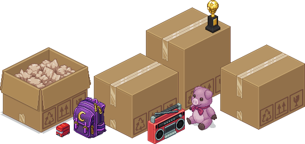 Unpacking boxes of memories